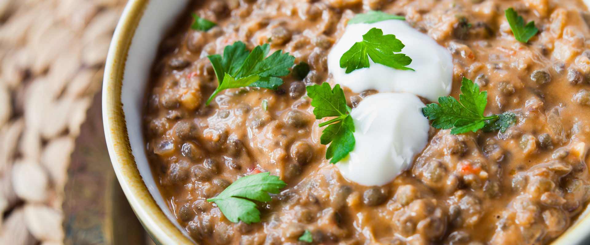 Four-spice-green-lentils